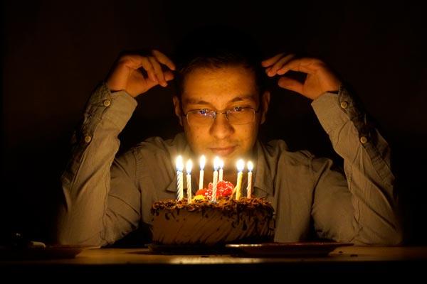 تولد 20 سالگی علی سمیعی
